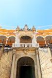 Bullfight arena, plaza de toros in Seville,La Maestranza Royalty Free Stock Image