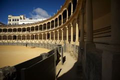 Bullfight arena in Ronda. One of famoust Bullfight arena in Spain, located in Ronda, Andaluzia Stock Photography