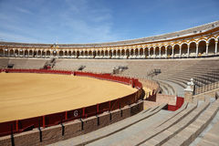 Bullfight arena in Seville, Spain Royalty Free Stock Photos