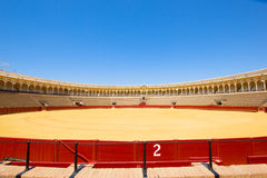 Bullfight arena  in Seville, Spain Stock Photography