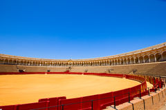 Bullfight arena  in Seville, Spain Stock Images
