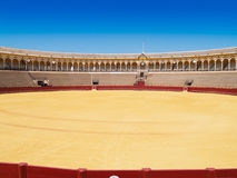 Bullfight arena of Seville, Spain Royalty Free Stock Photos