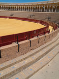 Bullfight arena of Seville, Spain Royalty Free Stock Photos