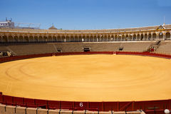 Bullfight arena  in Seville, Spain Royalty Free Stock Image