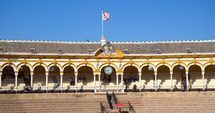Bullfight Arena in Seville, Spain. Europe Royalty Free Stock Photography