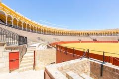 Bullfight arena stadium Stock Photo