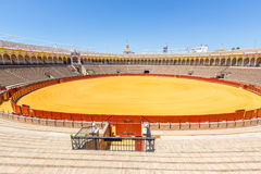 Bullfight arena stadium Stock Images