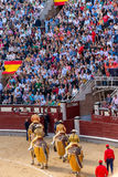 Bullfight in Madrid, Spain Royalty Free Stock Images