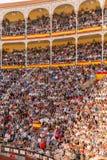 Bullfight in Madrid, Spain Stock Image