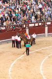 Bullfight in Madrid, Spain Stock Photo