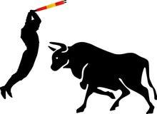 Bullfight picador