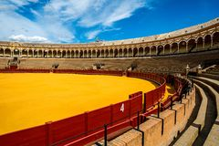 Bullfight ring in Spain Royalty Free Stock Images