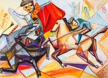 Bullfight Royalty Free Stock Photo