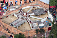 Bullfight Stable in Bogota Colombia Stock Photos