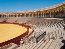 Bullfightarena av Seville, Spanien Royaltyfri Bild