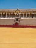 Bullfightarena av Seville, Spanien Arkivfoton