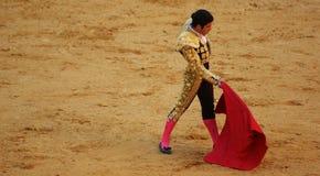 bullfighter arkivfoton