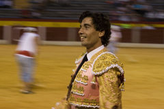 The bullfighter Curro Diaz Royalty Free Stock Images