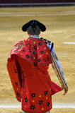 Bullfighter entering the bullring Stock Photo