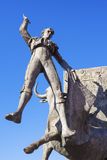 Bullfighter sculpture Stock Image