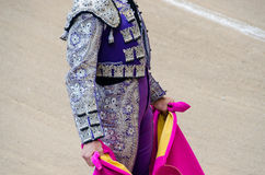 Bullfighter suit Royalty Free Stock Images