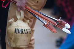 Bullfighter utensils Stock Photo