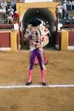 Bullfighters на paseillo или начальном параде Стоковое фото RF