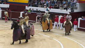 Bullfighters Stock Photography