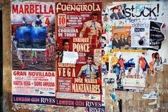Bullfighting stock images