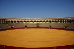 Bullfighting arena Royalty Free Stock Images