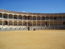 Bullfighting arena. One of the most famous Bullfighting arenas in Spain, Ronda Stock Photos