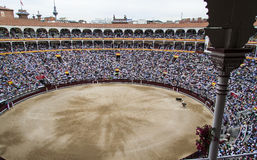 Bullfighting arena Royalty Free Stock Photography