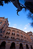 Bullfighting arena in Madrid, Las Ventas Royalty Free Stock Image