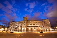 Bullfighting arena in Madrid, Las Ventas Stock Photos
