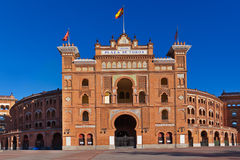 Bullfighting arena in Madrid Spain Royalty Free Stock Photo
