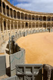 Bullfighting Arena in Ronda Royalty Free Stock Photos