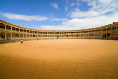 Bullfighting Arena in Ronda Stock Images
