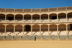 Bullfighting arena in Ronda. Spain Royalty Free Stock Images