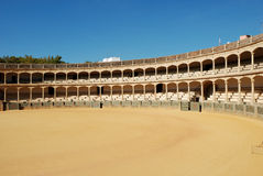 Bullfighting arena in Ronda. Spain Stock Photos