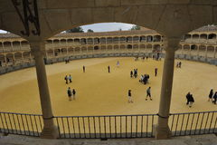Bullfighting Arena, Ronda, Spain Stock Images