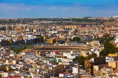 Bullfighting arena at Sevilla Spain Stock Images