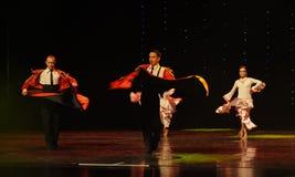 Bullfighting Cape-Spanish flamenco-the Austria's world Dance Royalty Free Stock Photo