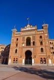 Bullfighting corrida arena in Madrid Spain Royalty Free Stock Photos