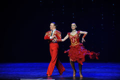 Bullfighting dance-the Austria's world Dance Royalty Free Stock Photos