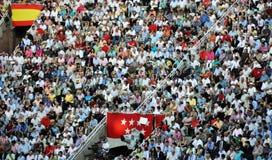 bullfighting festiwalu spanish obrazy stock