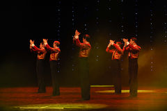 Bullfighting rider-Spanish flamenco-the Austria's world Dance Royalty Free Stock Photos