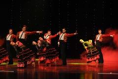 Bullfighting rider-Spanish flamenco-the Austria's world Dance Stock Photo