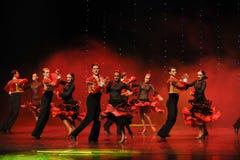 Bullfighting rider-Spanish flamenco-the Austria's world Dance Royalty Free Stock Photo