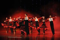 Bullfighting Rider-Spanish Flamenco-the Austria S World Dance Royalty Free Stock Photos