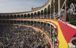 Bullfighting Square Las Ventas Royalty Free Stock Photos